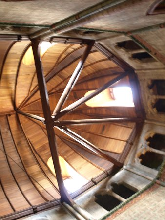 View of the barrel vaulting