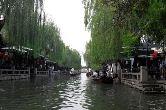 Zhouzhuang Water Village Tour fra...