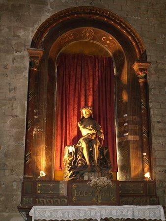 Polychrome statue Ecce Homo