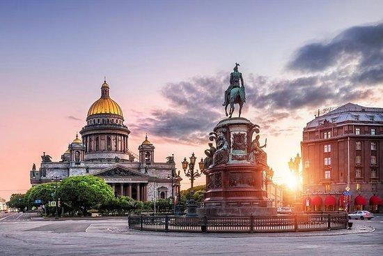 サンクトペテルブルクでの2日間のグループショアエクスカーション、Faberg…