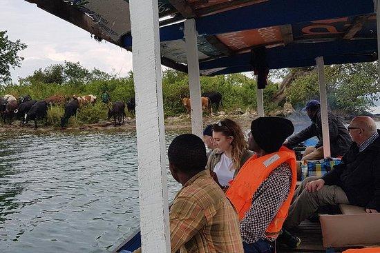 Um dia de Kivu Lake e Gisenyi...
