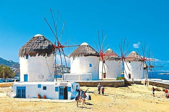 11 Day Greek Islands tour, visit Paros, Naxos, Mykonos, Santorini,