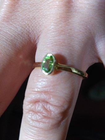 Sunrise jewelry making classes student making this gold ring 3.30 hour class time contact Kathmandu 9864291394 Watsapp