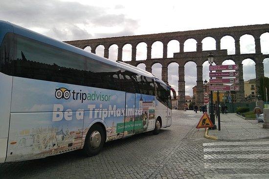 マドリッド発のトレドとセゴビアを巡るツアー、アルカサルへの入場あり。