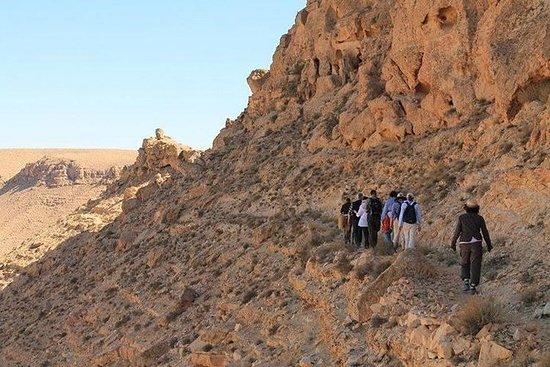 Fotturer i Berber-landsbyene i Sør-Tunisia