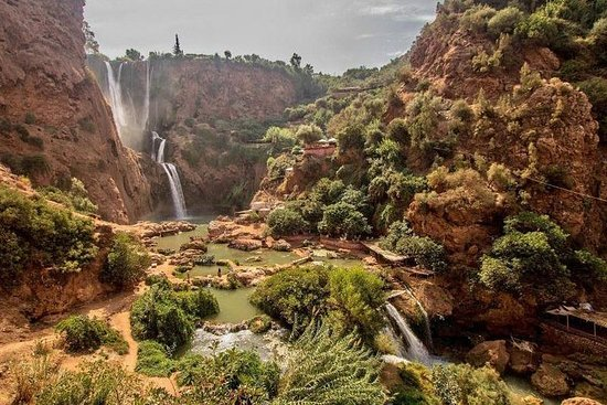 Ouzoud Falls dagstur fra Marrakech