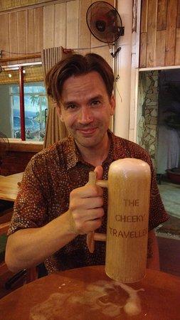 French Wines - 60k Cocktails - 50k – Billede af The Cheeky Traveller English Pub, Phu Quoc-øen - Tripadvisor