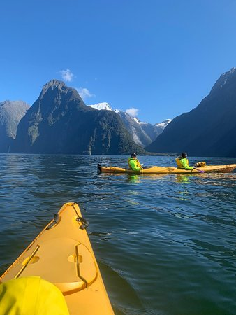 Sunriser Classic Sea Kayaking Trip from Milford Sound Image