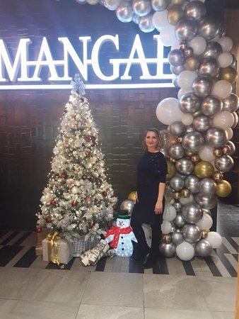 """Новогоднее настроение от кафе """"Мангал"""""""