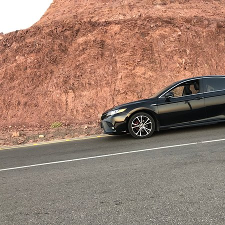 Modern car waiting you to have a nice trip and safe travel in most safe country in word and very hospitality people  #jordan  #petra  #wadirum