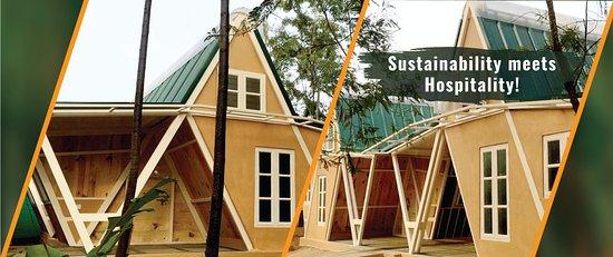 Sustainable cottages at ChukkiMane