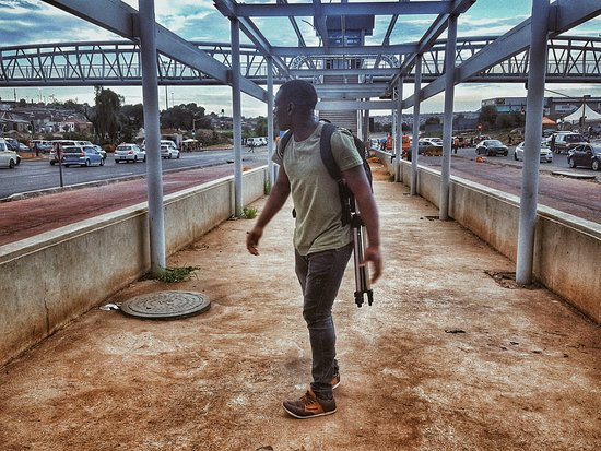 Tembisa, África do Sul: Busy location