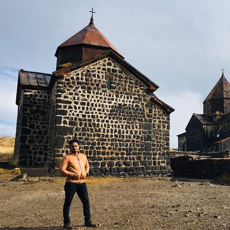 Monastery near Lake Sevan, Armenia