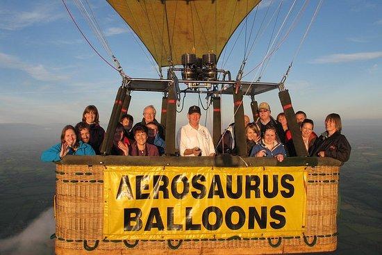 Hot Air Balloon Flight from - Somerset