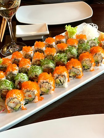 I've missed great sushi