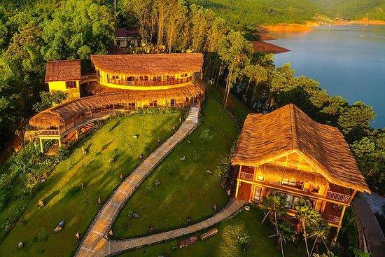 3Days Ninh Binh Tam Coc - MaiChau - Kajakkpadling på Hoa Binh Lake