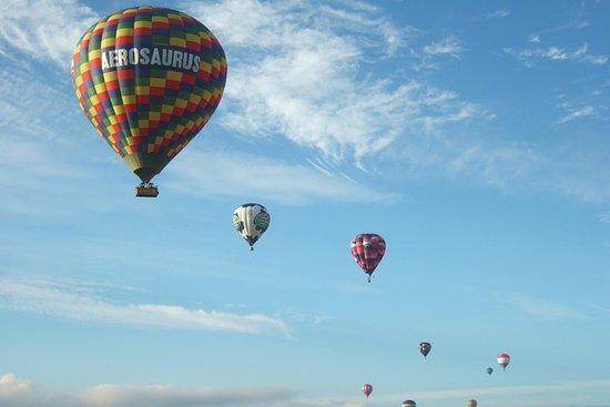 Vol en montgolfière au départ d'Exeter