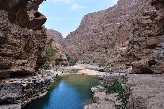 Hinreißende Schluchten Wadi Sahtan Full Day 4wd Vehicle