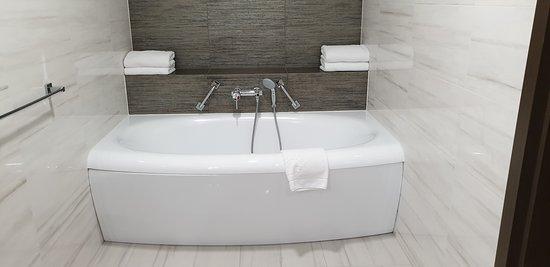 Bath in the Metropolitan suite