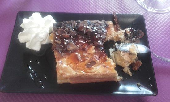 Poix-de-Picardie, Frankrike: le dessert