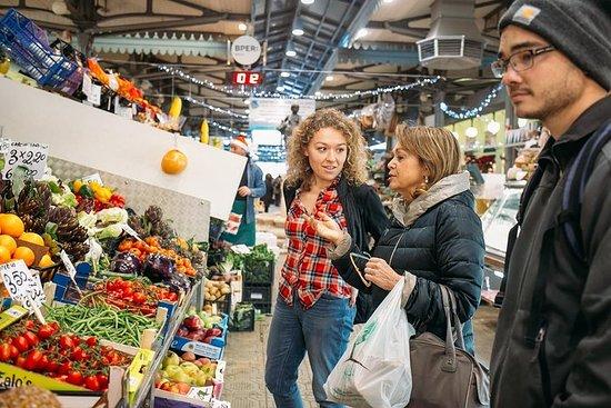 Visita al mercado de grupos pequeños...