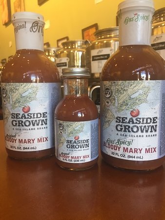 Locally made, Tito's endorsed Bloody Mary mix! Perfect for January 1st (National Bloody Mary Day)!!!