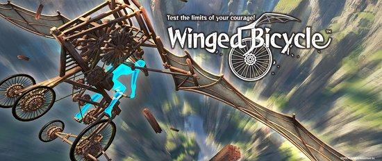 Winged Bicycle: Game Artwork
