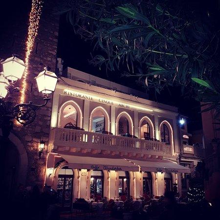 Restaurant Cinque Archi: Il Cinque Archi Restaurant Taormina - GUIDA MICHELIN 2020