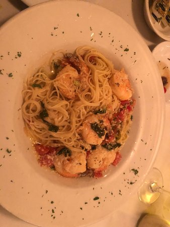 West Harwich, MA: The Veal Marsala and Shrimp Scampi we're awesome.