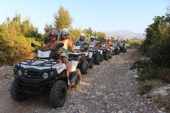 Quad Safari 50 Km Half Day Rethymno Crosscountry Experience