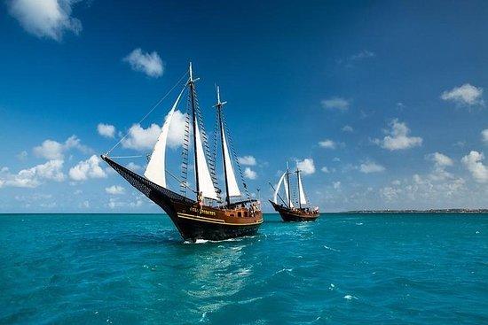 Recorrido de navegación en barco...