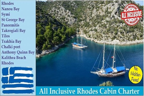 All Inclusive Rhodes Yacht Cabin Charter