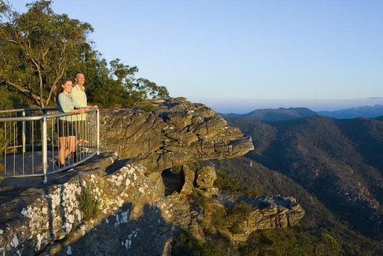 Parque Nacional Grampians e cangurus...