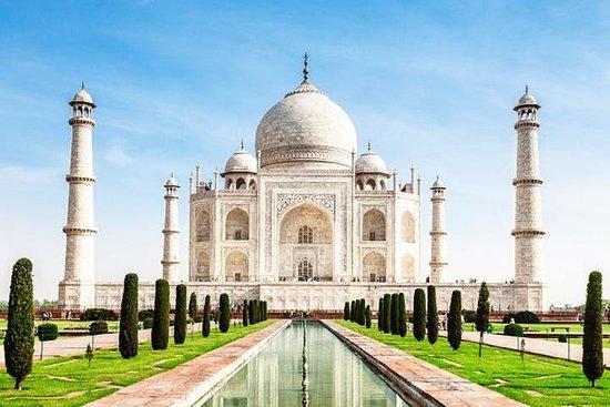 Taj Mahal Tour en une seule journée En...