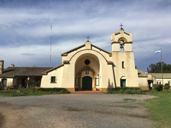 Los Toldos, Argentina: Monastery church