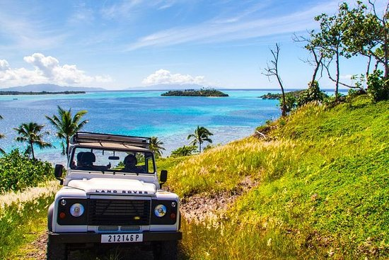 Recorrido en 4x4 en Bora Bora...