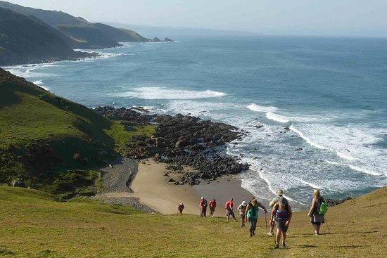 Hiking holiday - coastal 5 night trail Wild Coast South Africa