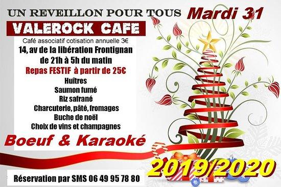 Le valerock Café Concert vous propose de venir finir l'année 2019 en musique ! Restauration sur place sur réservation