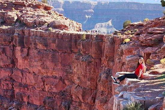 Grand Canyon West Rim dagstur med buss ...