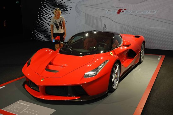 Italian Food and Museo Ferrari Small Group Tour from Bologna Including Gourmet Lunch: One of the many ferraris in the museum.