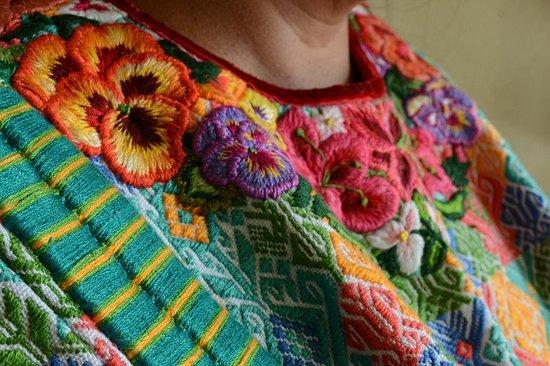Visite textile traditionnelle