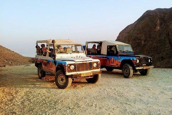 Jeep tour aventure Eilat montagnes