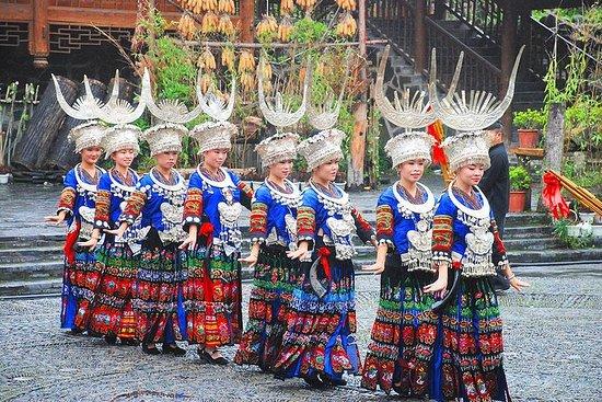 Excursión guiada privada guiada de 4 días por el sudeste de Guizhou a...