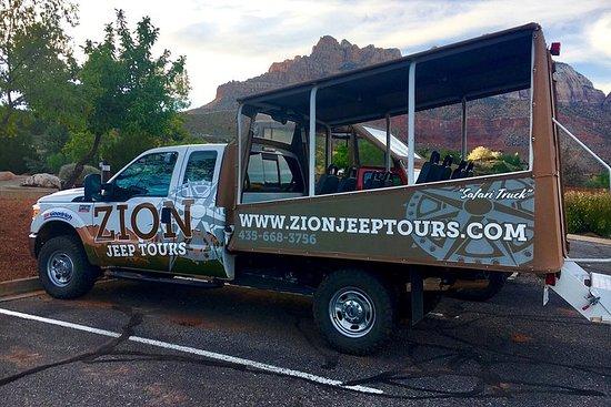 Excursão em grupo pelo Mesa Vista Safari