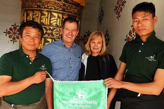 Tour privado de 7 días de Bután