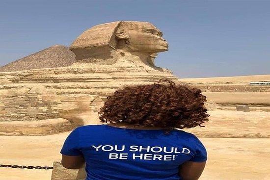 Private 2 Day Tour:Pyramids &Sphinx & Egyptian Museum & old Cairo & Khan Khalili – fénykép