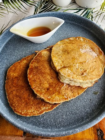 Vegan Pancakes! Seriously, if you are vegan when did you last have pancakes?! So good.
