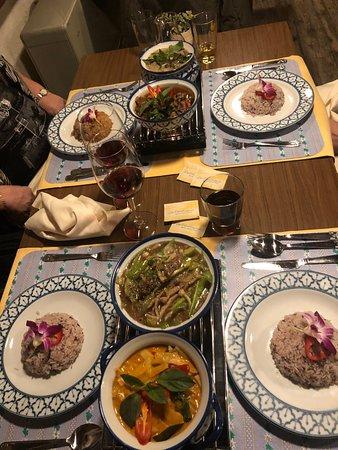 Feine frisch zubereitete Thai Küche
