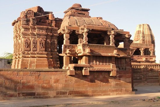 Private Day Excursion To Osian Temples with Tour Guide in Jodhpur Desserts ภาพถ่าย
