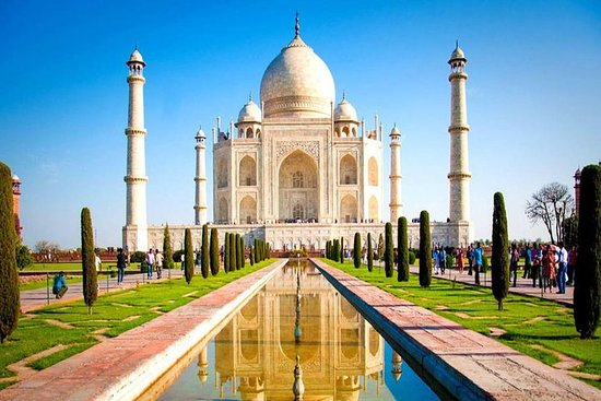 Super Saver Taj Mahal og Agra Fort Tour...